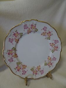 EDELSTEIN-BAVARIA-MARIA-THERESIA-034-OPHELIA-034-CHINA-6-034-BREAD-BUTTER-PLATE-GERMANY