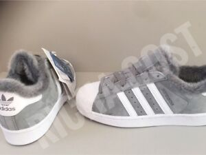 adidas superstar fur gris