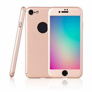Apple-iPhone-8-Hybrid-360-New-Shockproof-Case-Tempered-Glass-Cover