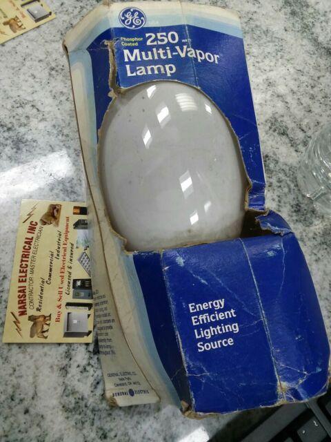 GE Lighting Mvr250//c//vbu//r Quartz Metal Halide Lamp Ed28 250w 1e641 for sale online