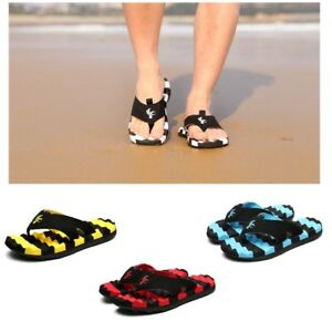 New Flip Flops Men Non Slip Massage Summer Fashion Mixed Color Pleated Slippers