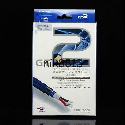 FURUTECH GT2 AUDIOPHILE USB CABLEUSB A USB B1.2 METRESFITS ARCAM RDAC