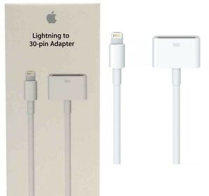 New Genuine Apple Md824zm A Lightning To 30 Pin Adapter