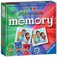 New! 21331 Ravensburger PJ Masks Mini Memory Card Game Pairs Snap Children 3yrs+