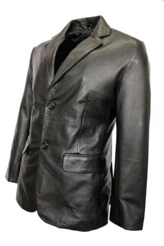 Torino Classic Men's Jacket Tailored Blazer Coat Italian Nappa New Leather Fit E5qHfW