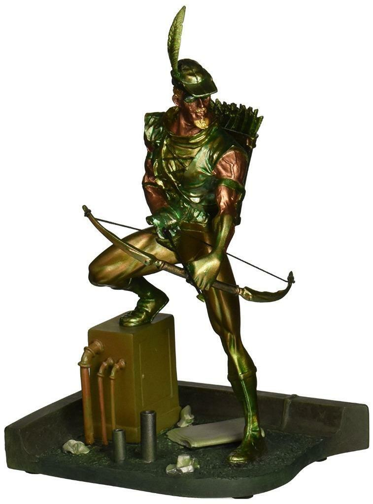 Dc Comics Collectibles patina MINI FRECCIA VERDE 6  Statua Figura Supereroe Nuovo
