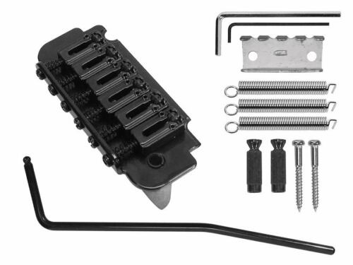 Tremolo schwarz Rollensattel roller saddles 52,5 mm spacing mit studs 63-68 mm