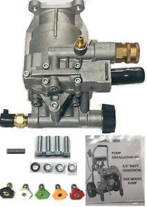 Bonus Tips Horizontal Pressure Washer Pump Kit 3 4