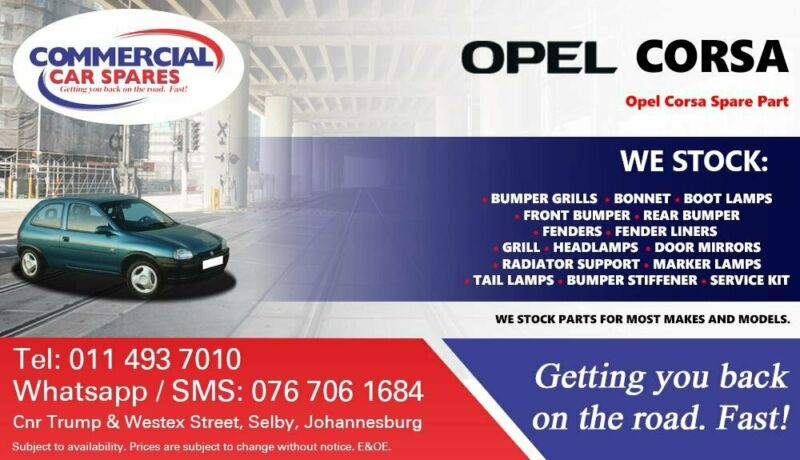 Opel Corsa Parts and Spares For Sale