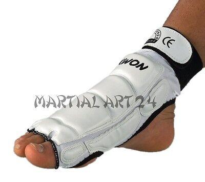 Kwon TKD Taekwondo Fußschutz Fußschützer Fußschoner CE Größe XS S M L XL