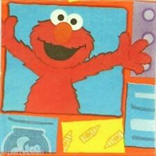 SESAME STREET Elmo Loves You SMALL NAPKINS (16) ~ Birthday Party Supplies Cake