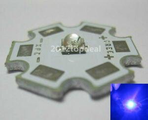 5pcs-x-CREE-XTE-1W-5W-Royal-Blue-LED-450-452nm-with-20mm-star-base-for-fish-tank