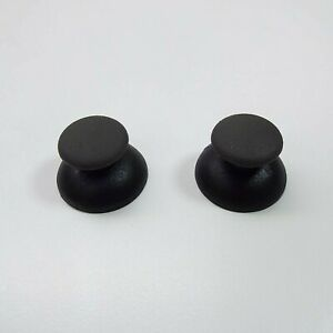 2X-Thumbsticks-Joysticks-Analog-Sticks-Parts-For-PS2-Controller-BLACK-R3800