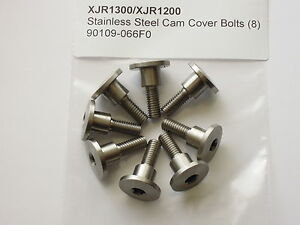 Yamaha-XJR1300-XJR1200-YZF-FJR-Stainless-Cam-Cover-Bolts-90109-066F0-8
