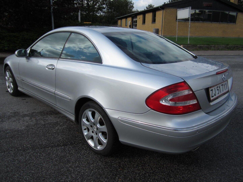 Brugt Mercedes CLK240 Elegance aut. i Solrød og omegn