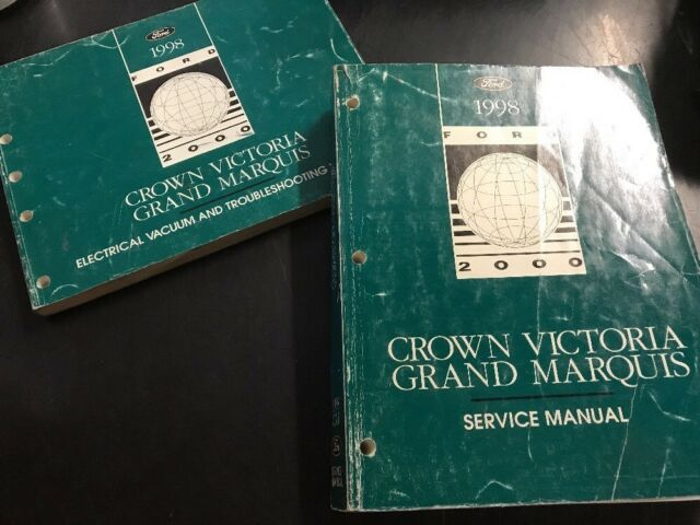 1998 Ford Crown Victoria Workshop Service Manual Wiring