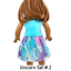 Unicorn-Top-amp-Skirt-18-034-Doll-Clothes-fits-American-Girl-dolls thumbnail 9