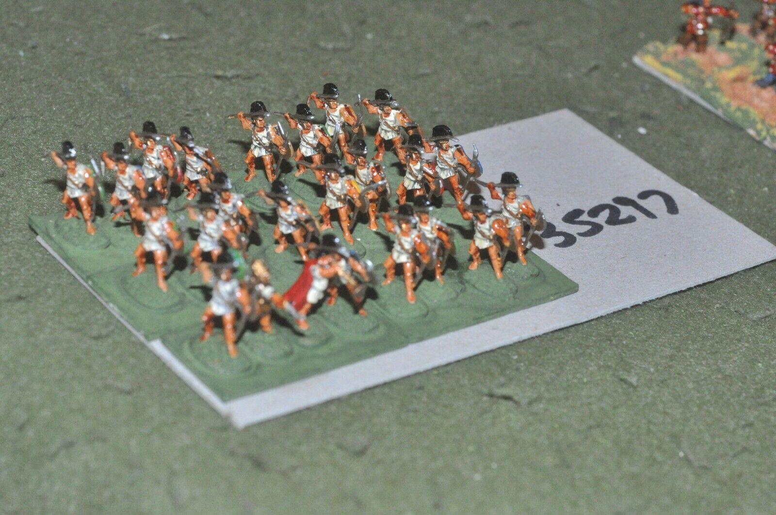 15mm classical   greek - peltasts 24 figures - inf (35297)