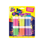 6-Pots-Of-Neon-Finger-Paints-Non-Toxic-Painting-Children-Crafts-Poster-Art-Set thumbnail 2