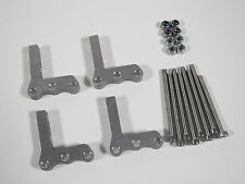 Tamiya 1/10 RC Ford F350 Toyota Hilux Tundra Relocate Axle Suspension Mount (4)