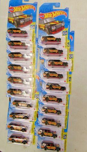 2020 Hot Wheels Datsun Bluebird Wagon Lot of 20 Black Momo VHTF 510
