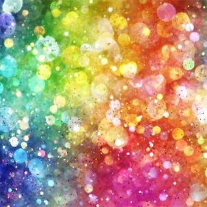 Image Is Loading Bokeh 8x8ft Colorful Glitter Photography Backgrounds Photo Studio