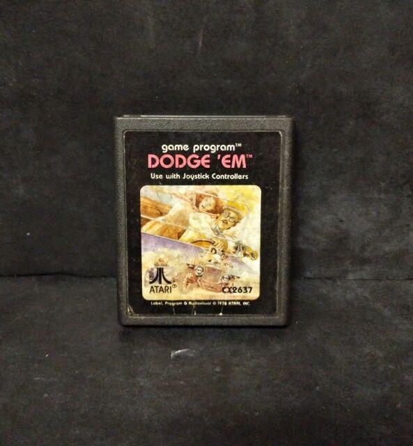 Dodge 'Em (Atari 2600, 1981) Cart Only