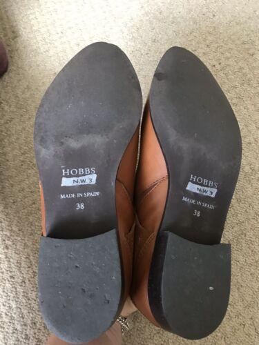 Hobbs Tan Støvler Størrelse 38 5 Ankel fgfwR