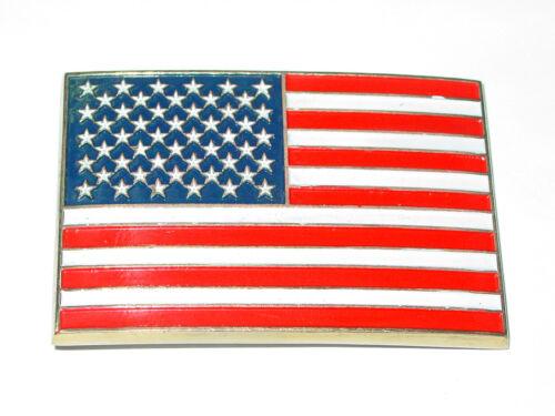 Fibbia Cintura Stati Uniti bandiera Buckle per cinture America Bandiera BELT CAMION