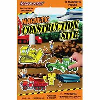 Create-a-scene Magnetic Playset: Construction Site , New, Free Shipping