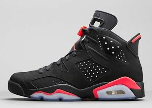 nike air jordan 6 retro black infrared ebay uk