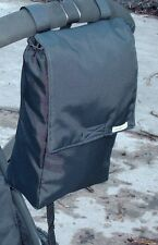 Bagabottle Black Pouch Bag fits Bugaboo icandy,Graco Evo, Quinny Mood & More