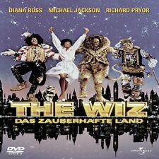 THE WIZ-DAS ZAUBERHAFTE LAND-DVD NEU DIANA ROSS,MICHAEL JACKSON,NIPSEY RUSSELL