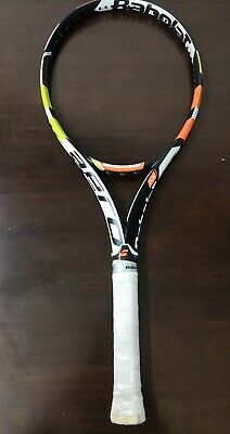 Babolat Aeropro Drive PLAY 100 head USB EXCELLENT 4 1//4 grip Tennis Racquet