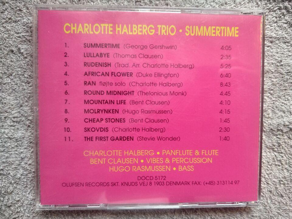 Charlotte Halberg Trio: Summertime, jazz