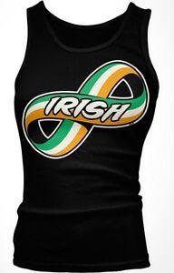 Irish Forever Infinity Symbol Ireland Flag Colors Pride Heritage Men/'s T-Shirt
