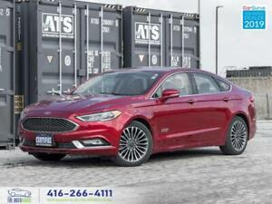 2017 Ford Fusion Energy|Titanium|Low kms|Navi|Camera|