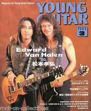 Young Guitar Magazine March 1999 Japan Van Halen Angra Marilyn Manson