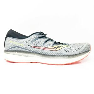 Saucony Mens Triumph ISO S20462-1 Gray Running Shoes Lace Up Low Top Size 12.5