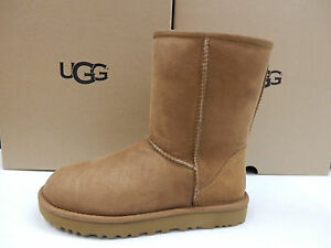 ade23313740 Image is loading UGG-WOMENS-BOOTS-CLASSIC-SHORT-II-CHESTNUT-SIZE-