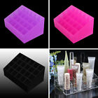 Clear Makeup Cosmetic Organizer Lipstick Brush Storage Holder Case Stand 24 40