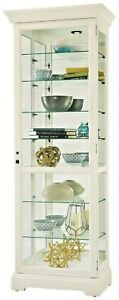 Howard-Miller-680-662-Chesterbrook-V-Aged-White-Finish-Curio-Cabinet-680662