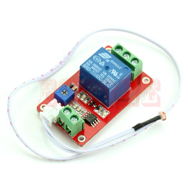 Car 12V Light Control Switch Photoresistor Relay Module Light Detection Sensor
