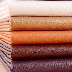 Image Is Loading Soft Pu Faux Leather Fabric Vinyl Textured Leatherette