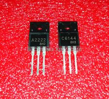 Hot Sell 5 Paire//10PCS 2SA2222 2SC6144 A2222 C6144 TO-220F Transistor