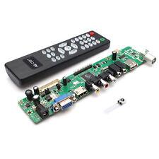 Universal LCD Controller Board TV Motherboard VGA/HDMI/AV/TV/USB