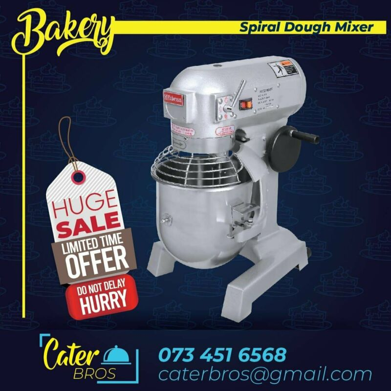 CAKE MIXERS, SPIRAL DOUGH MIXERS & COMMERCIAL BAKING EQUIPMENT