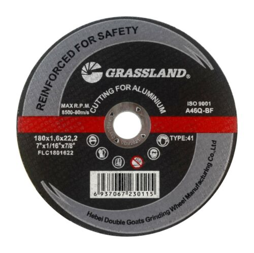 "7/"" x 1//16/"" x 7//8/"" T41 - 5 PACK Aluminum Freehand Cut-off wheel"