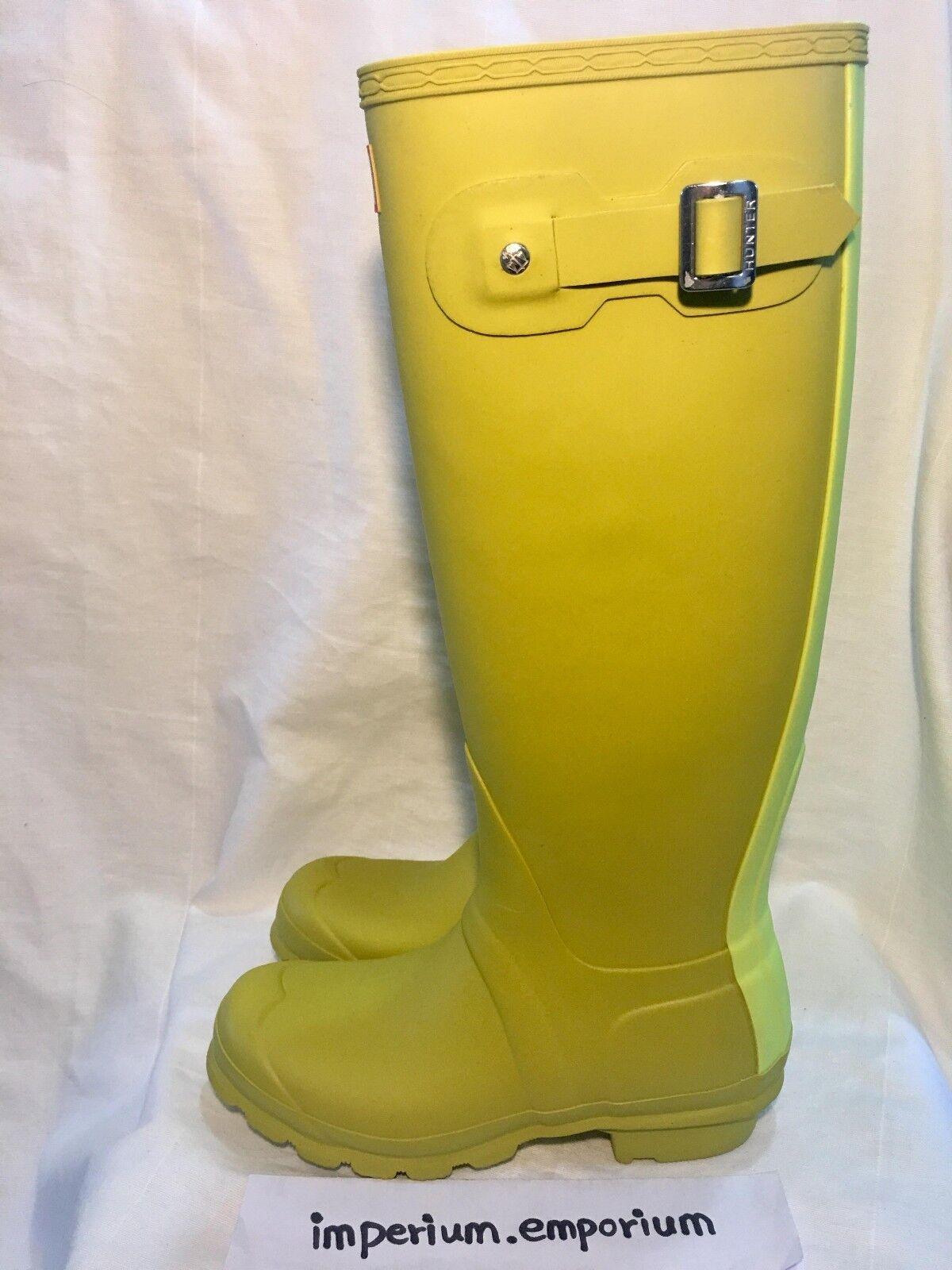 punti vendita Donna Hunter Tall Lime Lime Lime verde Stivali Di Gomma Da Pioggia Tg  spedizione veloce a te