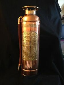 Decorative Fire Extinguisher antique fire extinguisher vintage empty ( decorative ) arrow fire